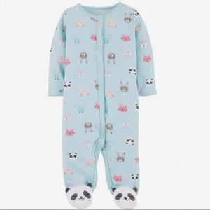 5/$25 Carter's Panda Footie
